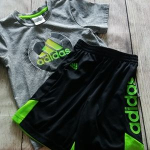 4T Adidas Boys Soccer Outfit